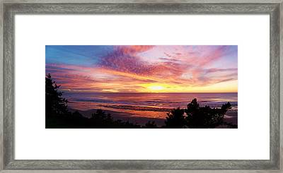 The Whole Sunset Framed Print
