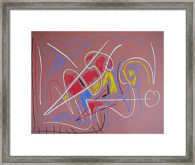 The Whole Thing Framed Print by Perry Capitan