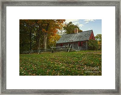 The Wick House Framed Print