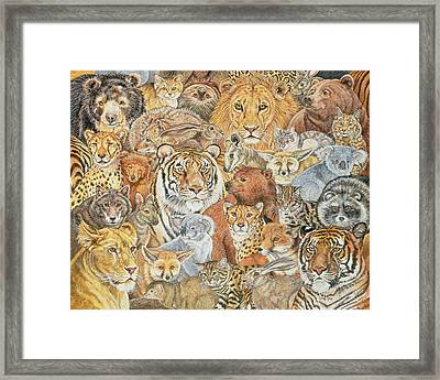 The Wild Bunch  Framed Print by Ditz
