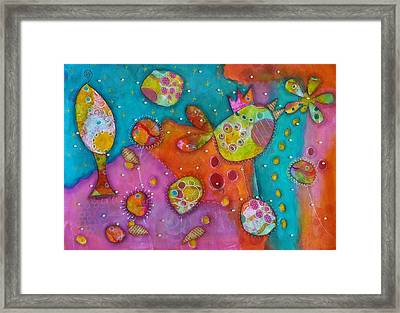 The Wild Kingdom - Birdie Framed Print