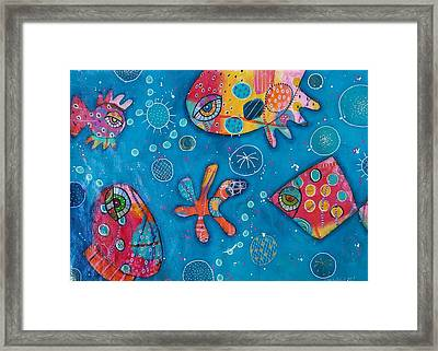 The Wild Kingdom - Undersea Framed Print