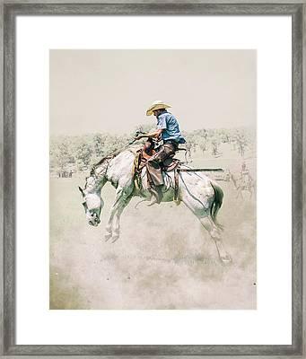The Wild Wild West Framed Print