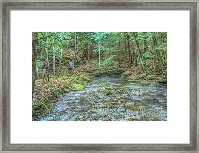 The Wilderness Trail Framed Print by Randy Steele