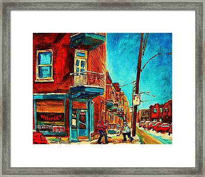 The Wilensky Doorway Framed Print