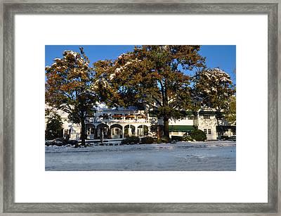 The William Penn Inn Framed Print by Bill Cannon
