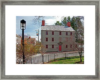 The William Pitt Tavern Framed Print