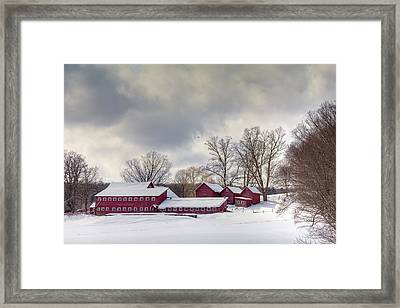 The Williams Farm Framed Print by Susan Cole Kelly