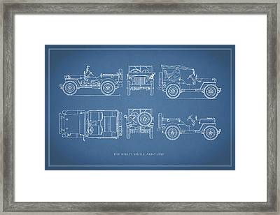 The Willys Jeep Framed Print