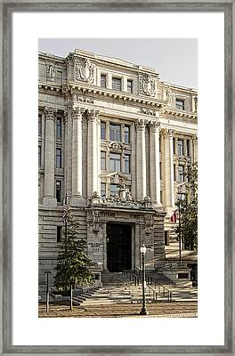 Framed Print featuring the photograph The Wilson Building by Greg Mimbs