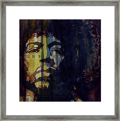 The Wind Cries Mary Reprise  Framed Print by Paul Lovering