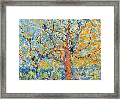 The Wind Dancers Framed Print