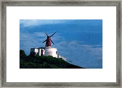 The Windmill Framed Print by Cabral Stock