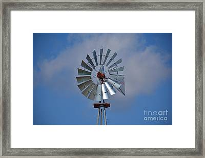 The Windmill Framed Print by Ray Shrewsberry