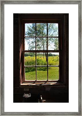 Framed Print featuring the photograph The Window  1 by Joanne Coyle