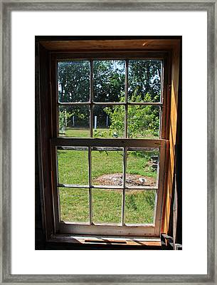 The Window 3 Framed Print