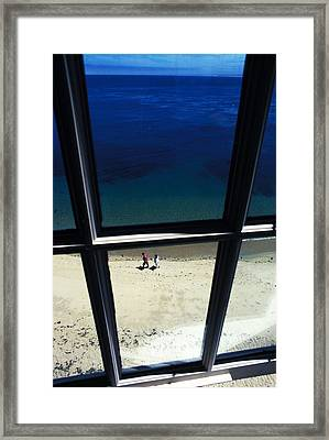Framed Print featuring the photograph The Window by Carl Purcell