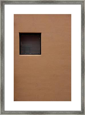 Framed Print featuring the photograph The Window by Monte Stevens