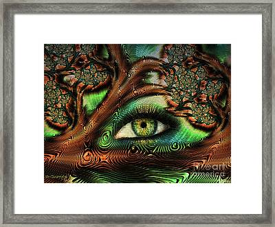 The Window To Your Soul Framed Print