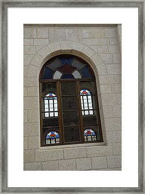 The Windows Of Jerusalem-1 Framed Print by Alex Kantor