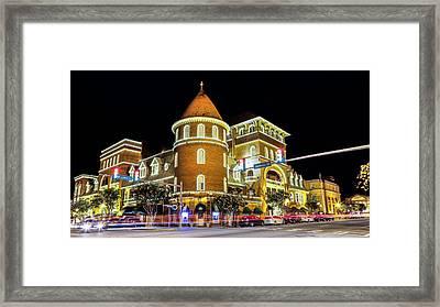 The Windsor Hotel - Americus, Ga Framed Print by Stephen Stookey