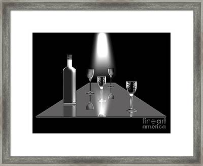 The Wine Bar Framed Print