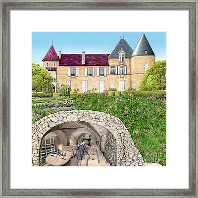 The Wine Caves Of France Framed Print by Albert Puskaric