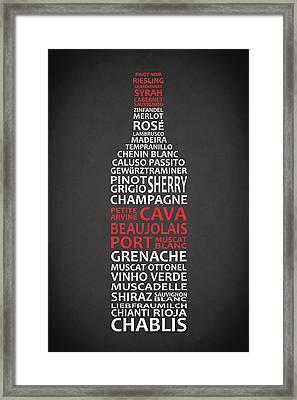 The Wine Connoisseur Framed Print