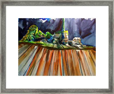 the winery at Gastone Framed Print