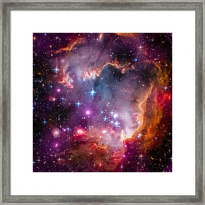 The Wing Of The Small Magellanic Cloud Framed Print by Marco Oliveira