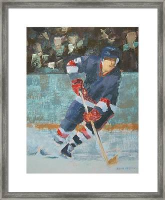 The Winger Framed Print by Ernie Ferguson