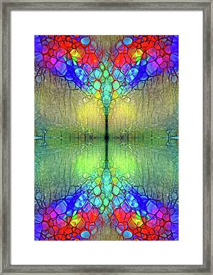 The Wings Of Trees Framed Print