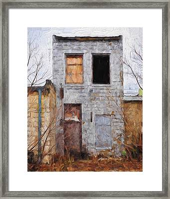 The Wink Framed Print