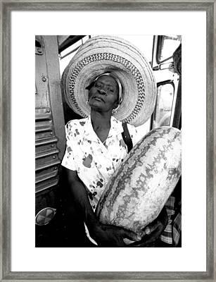 The Winner Framed Print by Michael L Kimble