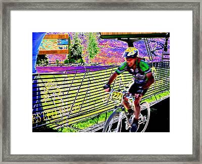 The Winner Framed Print by Peter  McIntosh