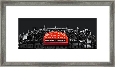 The Winning Confines Framed Print