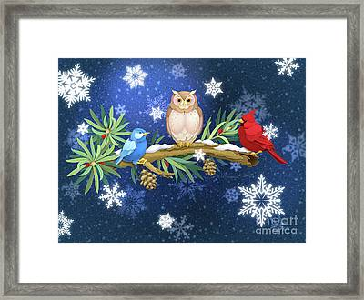 The Winter Watch Framed Print