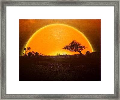 The Wisdom Tree Framed Print