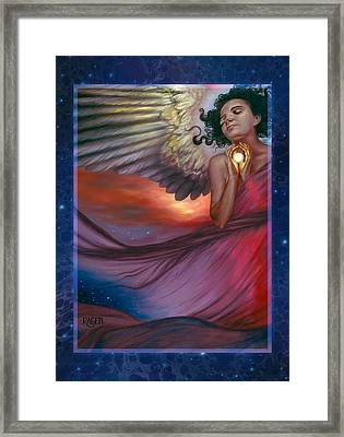 The Wish Bearer Framed Print