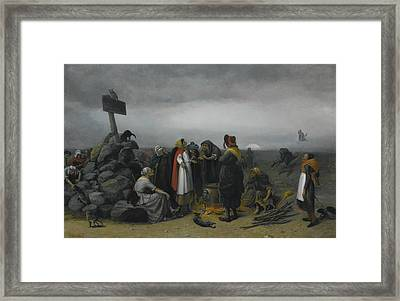 The Witches Convention Framed Print by William Holbrook Beard