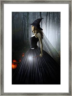The Witching Hour Framed Print by Julie L Hoddinott