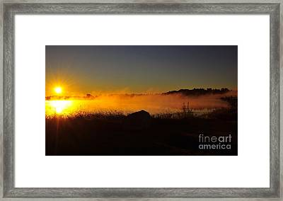 The Witching Pool Framed Print
