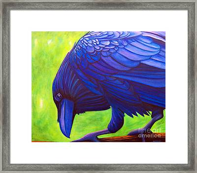 The Witness Framed Print
