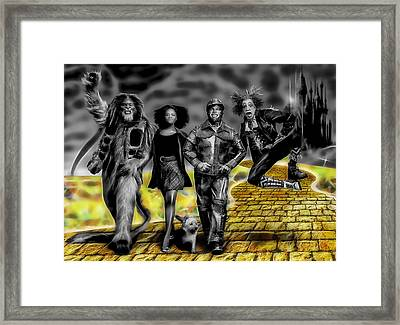 The Wiz Collection Framed Print