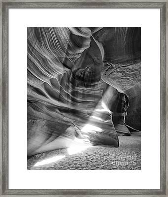 The Wizard Antelope Canyon Navajo Nation Page Arizona Framed Print by Silvio Ligutti