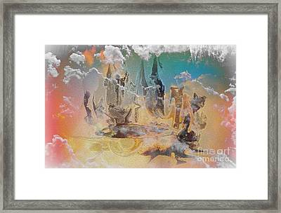 The Wizard By Sherriofpalmsprings Framed Print