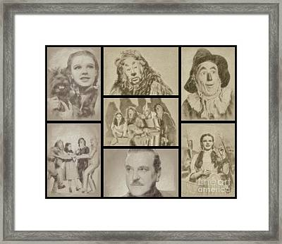 The Wizard Of Oz Framed Print by Esoterica Art Agency