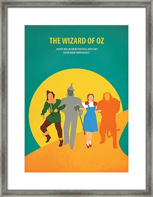The Wizard Of Oz Framed Print by Fraulein Fisher
