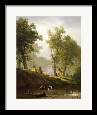 Teepee Framed Prints