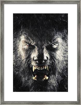 The Wolfman Framed Print